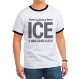 TURN ILLEGALS INTO ICE - T
