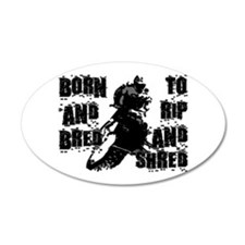 Born And Bred Wall Decal