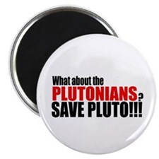 "Save the Plutonians v.2 2.25"" Magnet (10 pack)"