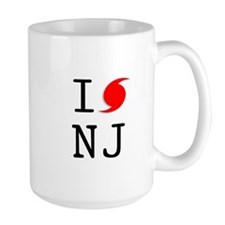Hurricane Sandy New Jersey Mug