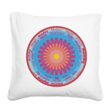 Universal Mother Square Canvas Pillow