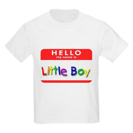 Little Boy Kids T-Shirt