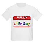 Little Boy Kids T-Shirt