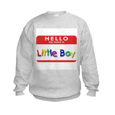Little Boy Kids Sweatshirt