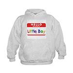 Little Boy Kids Hoodie