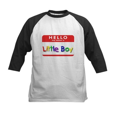 Little Boy Kids Baseball Jersey