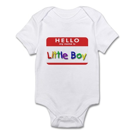 Little Boy Infant Creeper