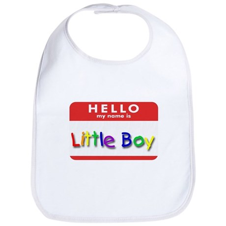 Little Boy Bib