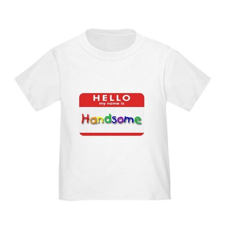 Handsome Toddler T-Shirt
