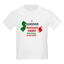 I SURVIVED HURRICANE SANDY NJ T-Shirt