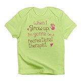 Future Recreational Therapist Infant T-Shirt