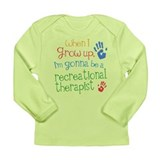Future Recreational Therapist Long Sleeve Infant T