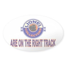 White Lionel Decal