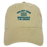Funny Greek Moussaka Cap