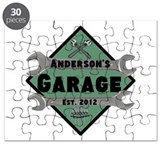 Personalized Garage Puzzle