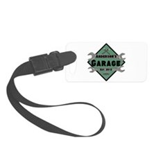 Personalized Garage Luggage Tag