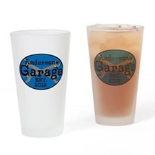 Personalized Garage Drinking Glass