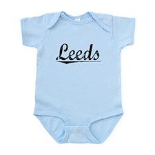 Leeds, Vintage Infant Bodysuit