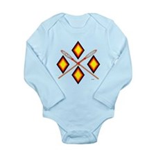 SOUTHEAST TRIBAL STICKBALL Long Sleeve Infant Body