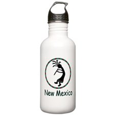 New Mexico kokopeli god Water Bottle