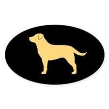 Yellow Lab Decal