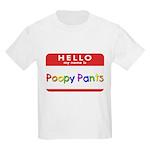 Poopy Pants Kids T-Shirt