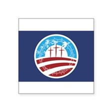 Christians for Obama Oval Sticker