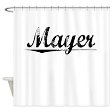 Mayer, Vintage Shower Curtain