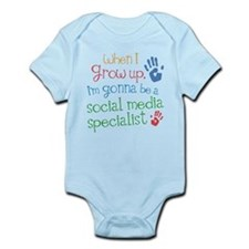 Future Social Media Specialist Infant Bodysuit