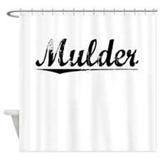 Mulder, Vintage Shower Curtain