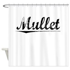 Mullet, Vintage Shower Curtain