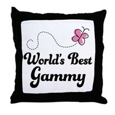 Gammy (Worlds Best) Throw Pillow