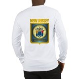 New Jersey Seal (B) Long Sleeve T-Shirt