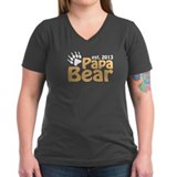Papa Bear Claw Est 2013  Shirt