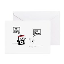 Sup Player Greeting Cards (Pk of 20)
