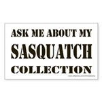 Sasquatch Collection Rectangle Sticker