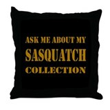 Sasquatch Collection Throw Pillow