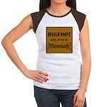 Bigfoot Messiah Women's Cap Sleeve T-Shirt