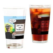 Vet Taxidermist Drinking Glass