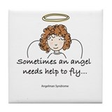 Angelman Syndrome Awareness Tile Coaster