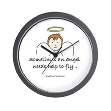 Angelman Syndrome Awareness Wall Clock