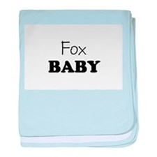 Fox.png baby blanket