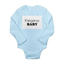 Kangaroo.png Long Sleeve Infant Bodysuit