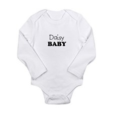 Daisy.png Long Sleeve Infant Bodysuit