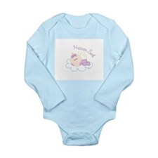 HeavenSent2.jpg Long Sleeve Infant Bodysuit
