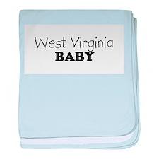 West_Virginia.png baby blanket
