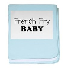 French_Fry.png baby blanket