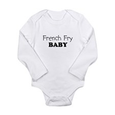 French_Fry.png Long Sleeve Infant Bodysuit