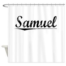 Samuel, Vintage Shower Curtain