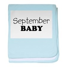 September.png baby blanket